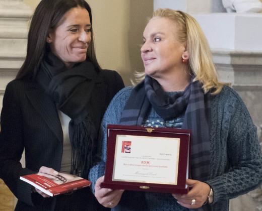 Bo e Mariangela Ercoli, del Centro Medico Parioli