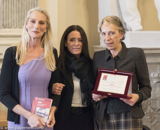 """Betty Dessy, Bo e la Principessa Maria Eleonora Massimo, Presidente Onorario dell'associazione """"Bon't worry"""""""