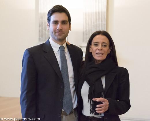 Bo con il Capitano della Guardia di Finanza Paolo Masciocchi