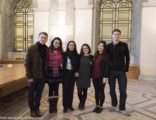 libro_guerreschi_348Bo con gli studenti della John Cabot University
