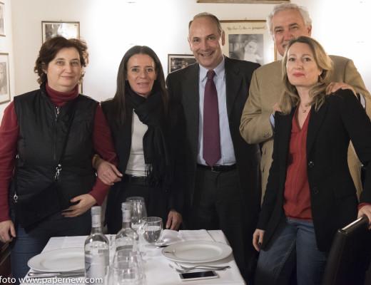 Bo con Fabrizio Frullani, Eugenio Bernardi e Chiara Ippoliti