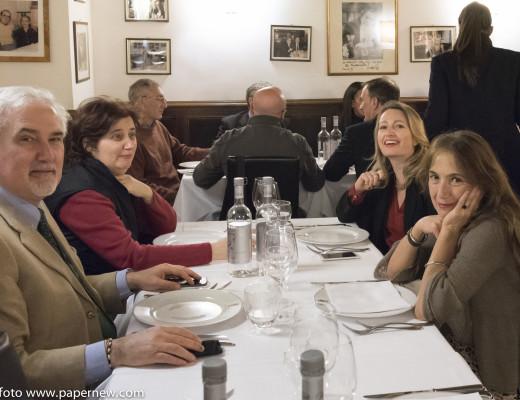 il tavolo della stampa